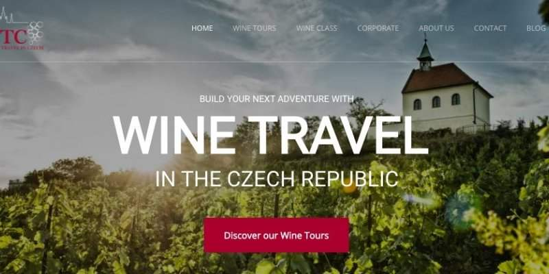 Wine Travel Czech