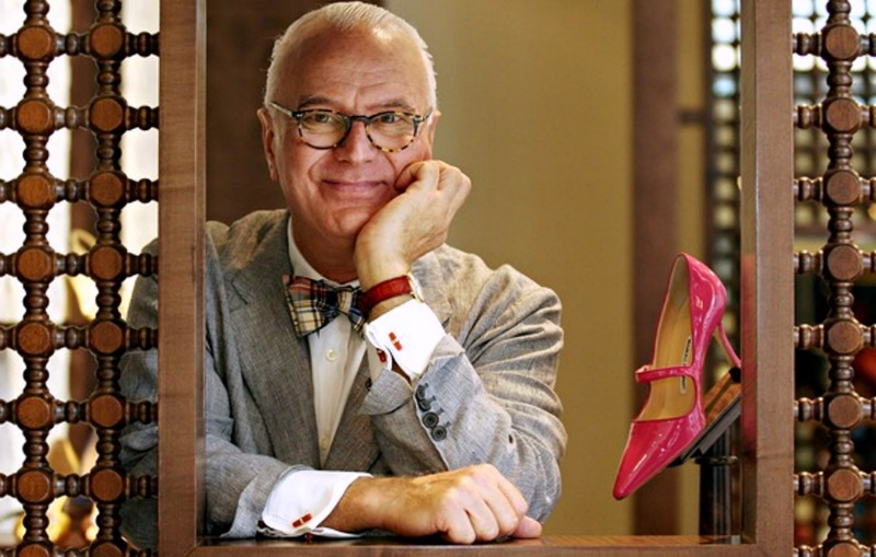 Manolo Blahnik s'expose à Prague